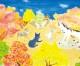 〈子ども美術館-第41回学生美術展 18〉母校へ送る最後の手紙(水彩)