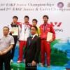 同胞空手選手が朝鮮代表として国際大会に出場