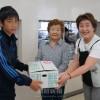 群馬・西毛の日朝女性らが福島初中を訪問/支援金を伝達