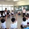 歌やゲームの楽しい授業/東京第6初級学校