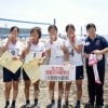 〈全国中学ビーチバレー〉初出場の北大阪初中、銅メダル獲得