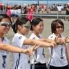 〈全国中学ビーチバレー〉初出場の北大阪初中、2勝し決勝トーナメント進出