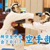 【動画】在日朝鮮学生中央体育大会2013・空手部門