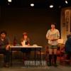 劇団アランサムセの結成25周年記念公演「ハモニカ長屋のどぶろくブルース」