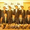 大阪朝高ラグビー部員ら、東大阪市長を訪問