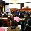 山口同胞たちの抗議集会、県議と団体代表ら参加