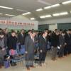 東日本大震災3周年、東北初中で同胞たちの集い