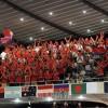 〈世界卓球〉最後まで声援送り続けた同胞応援団