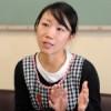 〈教室で〉東京朝鮮第6初級学校付属幼稚班 梁美華教員