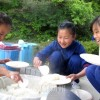 東北限定、本番前の「校内」キャンプ/東北朝鮮初中級学校少年団