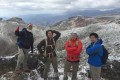 群馬登山協会、安達太良山へ/初冠雪の雪景色に歓声