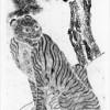 〈朝鮮民族の美88〉虎と鶕(까치・カササギ)民画①