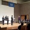 北大阪初中の李展世さんが最優秀賞/中学生人権作文コンテストで