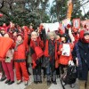 「女の平和」ヒューマンチェーン/7000人で国会囲む
