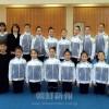 団体徒手体操の国際大会出場へ/在日朝鮮学生選抜チーム結団式