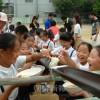 創立70周年に向け、朝青員が愛校行事/東大阪初級の未来のために
