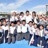〈総聯結成60周年大祝祭〉長野初中生徒らに感動賞/CM映像競演