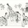 〈朝鮮の風物・その原風景 21〉アメ売り