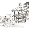 〈朝鮮の風物・その原風景 2〉ウォンドゥマク(園頭幕)