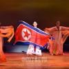 祖国解放70周年記念「アリランの調べ」/全国文芸同舞踊部員による舞踊祭典開催