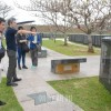 琉球大学生、歴史修正主義を直視/沖縄の朝鮮人慰霊碑フィールドワークで
