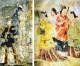 〈朝大・朝鮮歴史博物館 9〉朝鮮の三国時代 6/高句麗・人物風俗画 II
