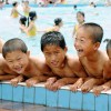 〈ピョンヤン笑顔の瞬間 71〉水泳の授業