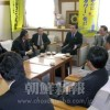 総聯埼玉代表、県知事らと懇談-民族教育権問題、引き続き支援要請