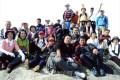 景色眺め会話に花咲かす/大阪登山協会、28人で交野山に