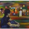 美術で「70年、」に向き合う/朝大美術科企画展