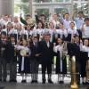 中国大会で2年連続の銀賞/広島初中高吹奏楽部、今大会最少人数編成で出演