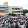 史上最大1600人で祝う/東春初級70周年記念大祝典