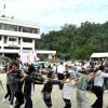 500人が共に「学校守ろう」/愛知第7初級創立70周年記念大祝祭