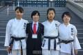 朝大空手道部、全日本大学選手権大会に出場/インカレ初勝利で全国32強入り