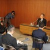 日本の独自「制裁」強化を糾弾/朝鮮会館で記者会見、南昇祐副議長が談話発表