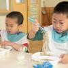 楽しく知って美味しく食べよう/埼玉初中アボジ会主催の一日給食会