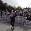 """""""朝鮮学校の子どもは希望""""/山口県庁前で座り込み、日本市民の思い"""