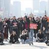 「キャンドルの勝利」朴槿恵を罷免