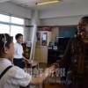 初級部「英語」授業スタート/初年度は5年生から
