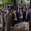 「4.24教育闘争」犠牲者らを追悼/69周年、東京・青山霊園無名戦士の墓前