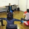体幹鍛えるバランスボール/女性同盟東京・練馬 光が丘分会
