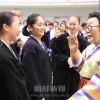日本軍性奴隷制被害者・李容洙さん/広島初中高を訪問