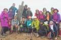 福島県の安達太良山を登頂/東京同胞山友会