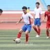祖国で朝鮮代表選考試合/在日朝鮮青年学生サッカー代表団