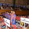 「朝鮮学校生徒らしい試合を」/東大阪中級サッカー部、全国開会式に参加