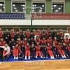 在日朝鮮学生少年籠球訪問団が祖国でプレー