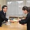 学びの道の手助けを/公益財団法人「在日朝鮮学生支援会」が奨学金伝達式