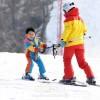 〈ピョンヤン笑顔の瞬間 100〉スキー上達に誇らしげな笑顔