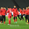 〈E-1サッカー選手権・男子〉戦術に変化、「ベストを尽くす」/リ・ミョングク主将が抱負語る