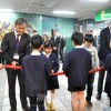 川崎で朝・日の子ども美術交流展/23回目、200余人の参加でオープニングセレモニー盛況